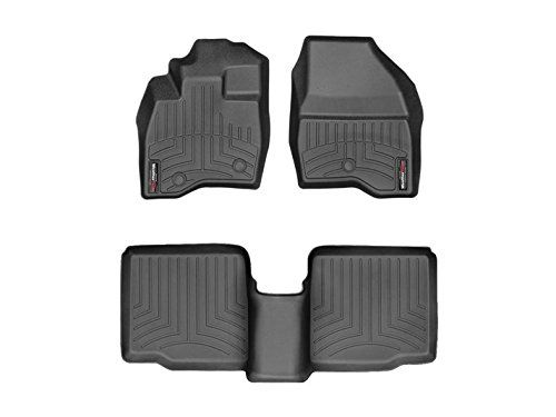 Weathertech Digitalfit 449811 443592 First And Second Row All Weather Floor Liners For 2017 Ford Explorer Weather Tech Weather Tech Floor Mats Car Floor Mats