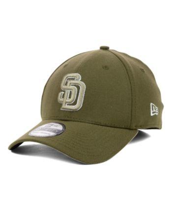sports shoes 114db b5c0e New Era San Diego Padres Mlb Team Classic 39THIRTY Stretch-Fitted Cap -  Brown M L