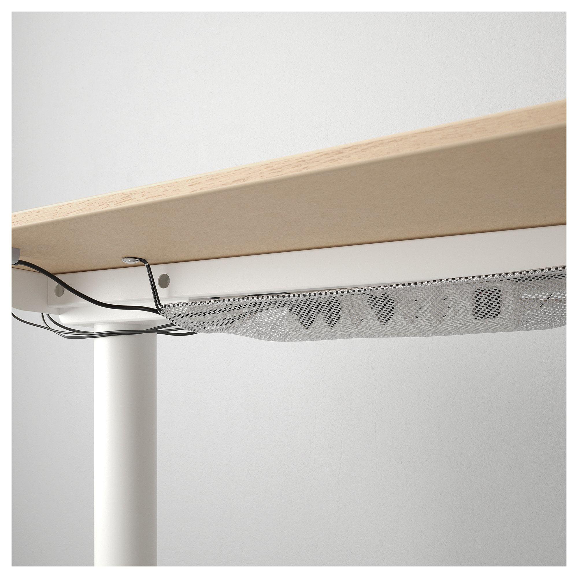 Bekant Ecktisch Rechts Sitz Steh Eichenfurnier Weiss Lasiert Weiss Ikea Osterreich Ecktisch Furnier Und Aufgeraumter Schreibtisch