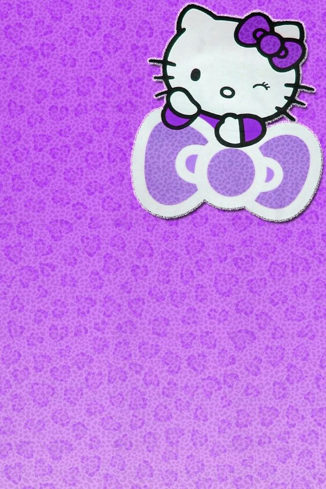 Cute Barbie Wallpapers 240x320 Purple Hello Kitty Wallpaper Google Search Hello Kitty