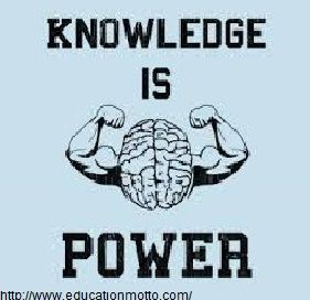 knowledge is power meaning