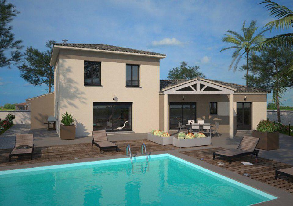 Plan maison neuve à construire - Maisons France Confort Diamant 125 - plan de maison moderne a etage gratuit