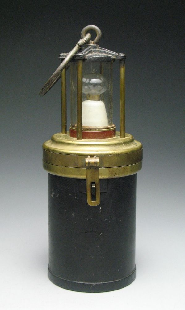 old unusual antique brass electric battery powered mineru0027s shipu0027s lantern