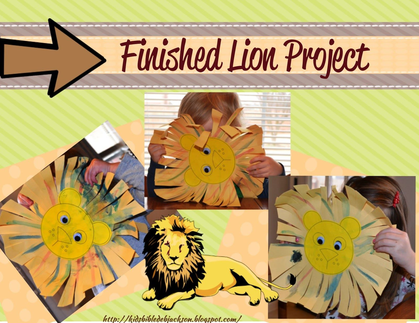 Preschool craft for Daniel and the Lion\'s den. Bible Fun For Kids ...