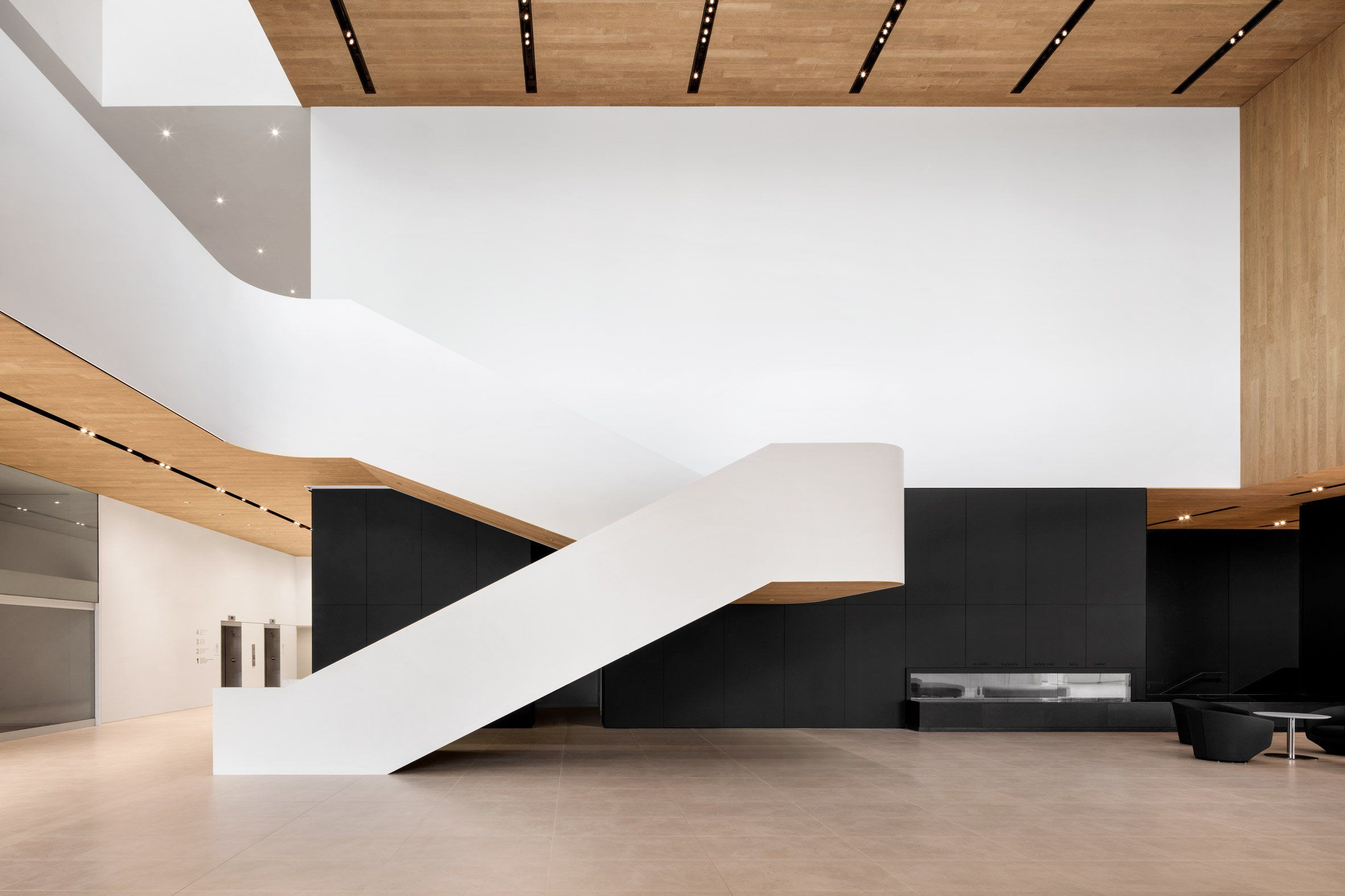 Remai Modern Museum In Canadian Prairies Comprises Stacked Volumes Museum Interior Art Museums Interior Art Galleries Architecture