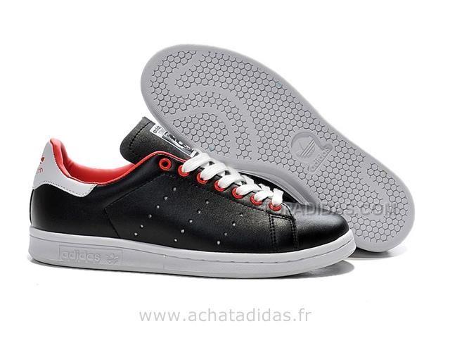 sélection premium aa42f 0a982 http://www.topadidas.com/adidas-stan-smith-noir-rouge-blanc ...