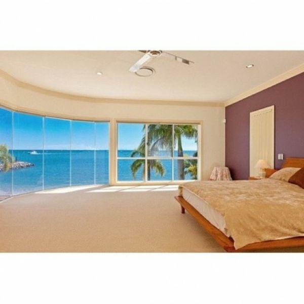 10 wunderschöne schlafzimmer mit aussicht auf den strand - http ... - Schlafzimmer Mit Ausblick Ideen Bilder