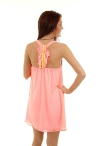 Karlie Ruffle Back Dress at http://wicked-purple.myshopify.com/collections/dresses/products/ruffle-back-halter-dress
