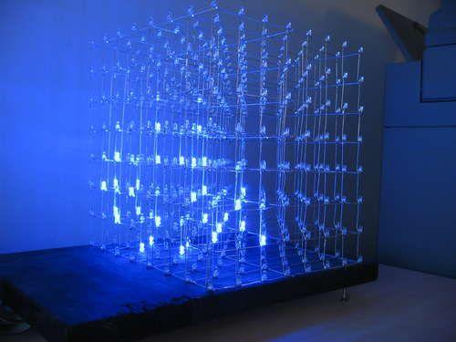 8x8x8 Led Cube Arduino Cerca Con Google Arduino Lamp Pinterest