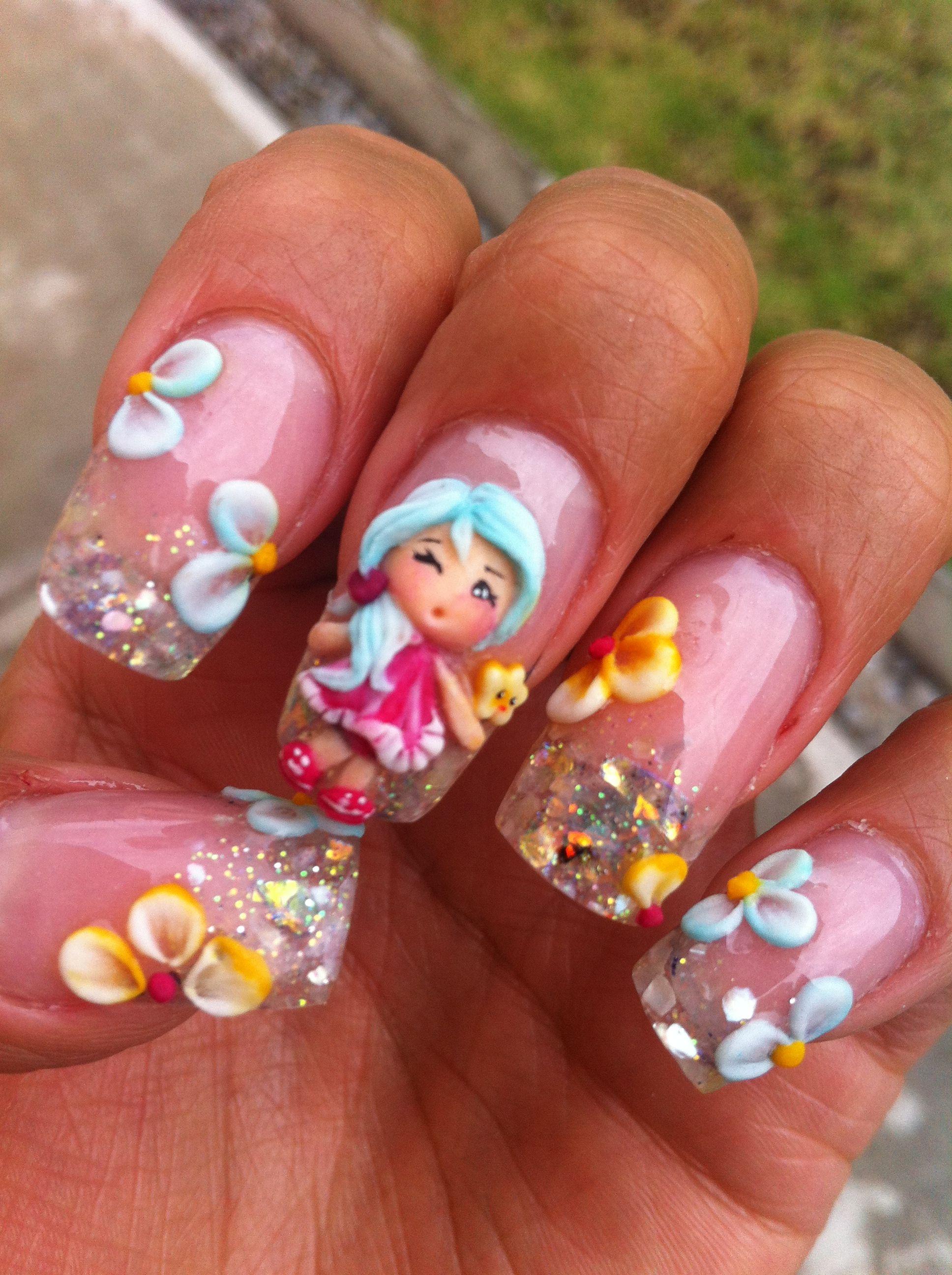 3D Nail art-- I Love It!! | Nails Nails Nails | Pinterest ...