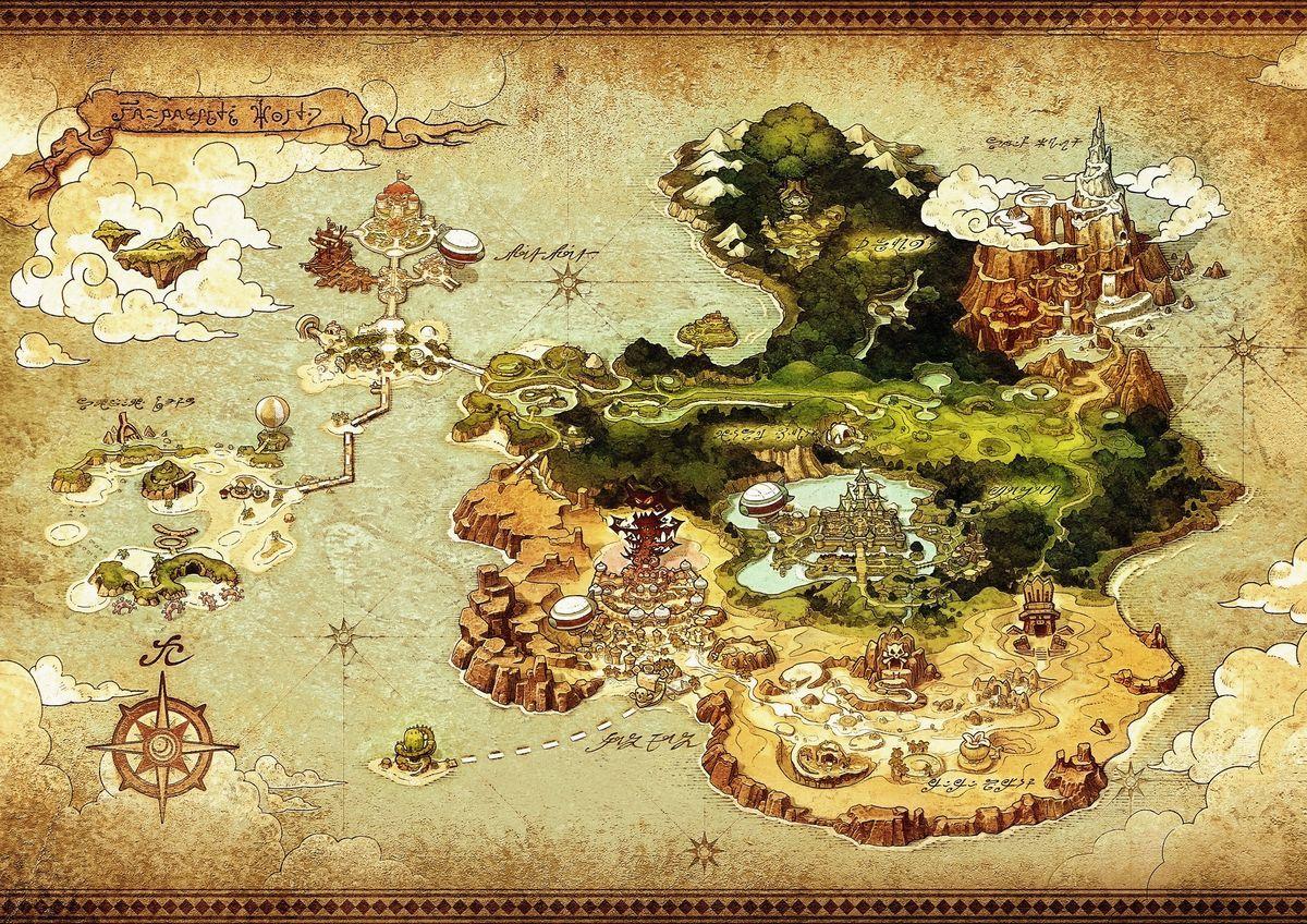 Fantasy Life Nintendo 3ds Artworks Images Legendra Rpg Dessin Rose Carte Du Monde Fantaisie Art Carte