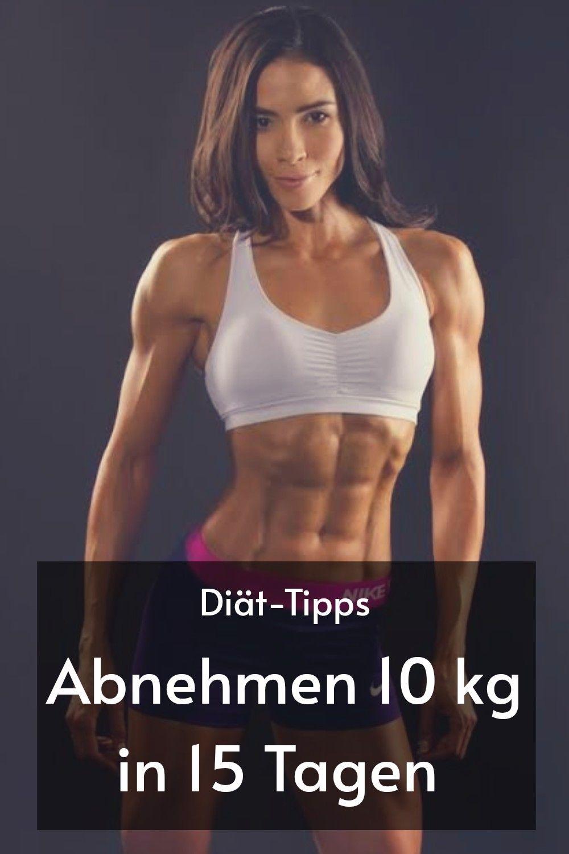 Diät, um schnell Gewicht zu verlieren und Übungen zu machen