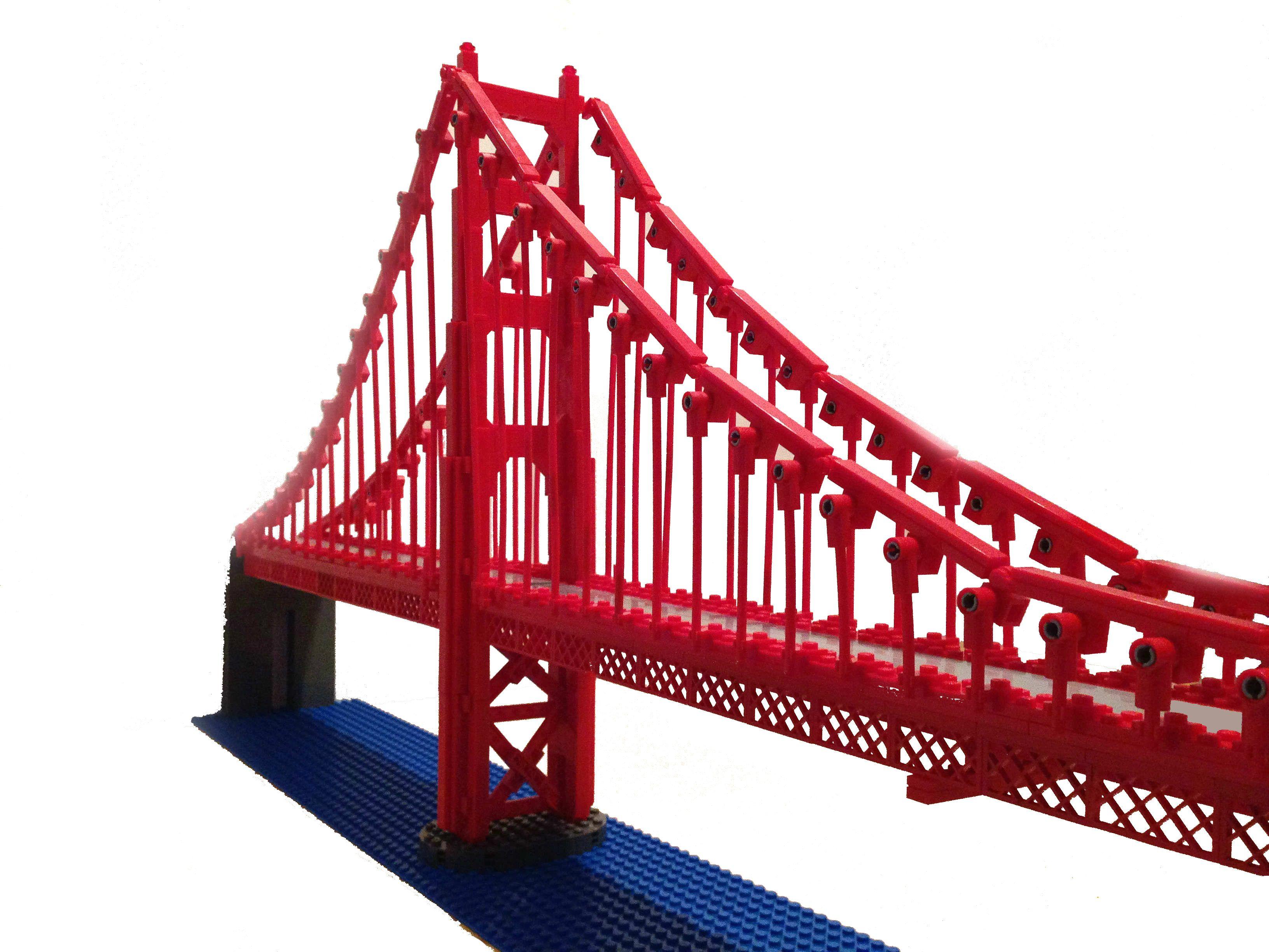 Printable coloring pages golden gate bridge - Lego Ideas Golden Gate Bridge