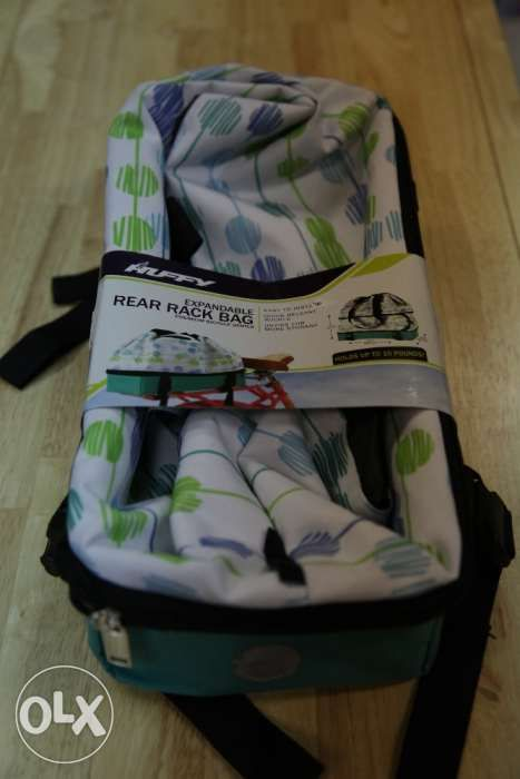 View Huffy Rear Rack Expandable Insulated bag for sale in Manila on OLX  Philippines. Or