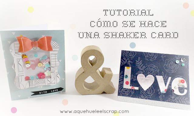 Tutorial: Como se hace una shaker card | A qué huele el Scrap