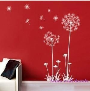 Dandelio    Vinyl Wall Decal Tree Wall Decals Wall Stickers Nursery Wall  Decal Children Wall Decals ( Welcome To Custom)