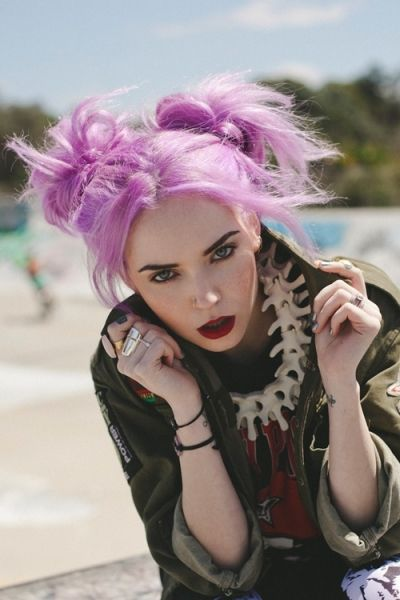 Sexy punk hair