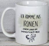 Photo of Mugs & Cups – Mug saying ironies – a designer product of mug gifts …