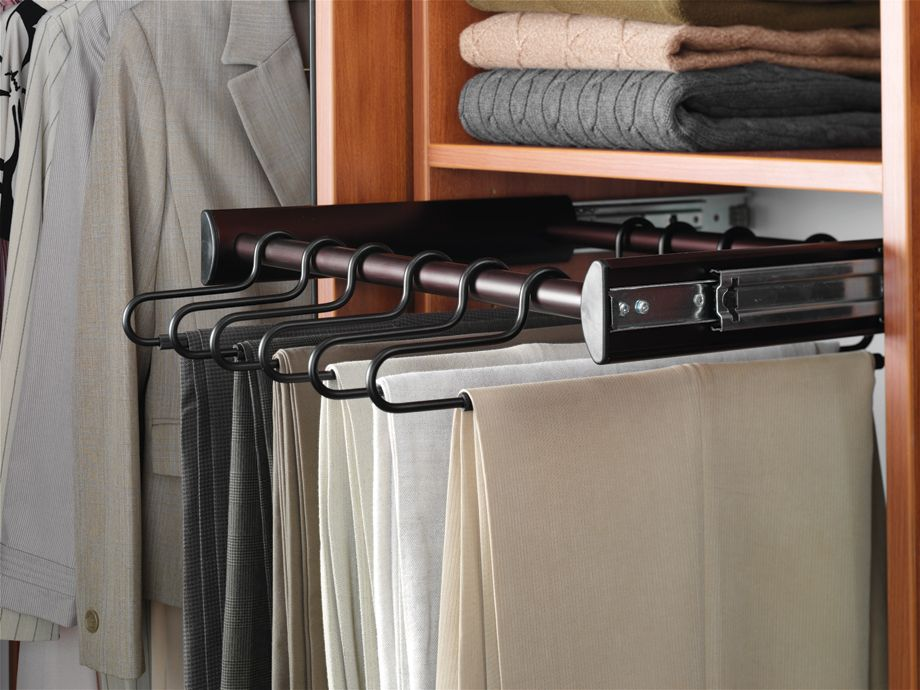 pant hanger on slider