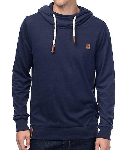 Blue hoodie · The Diese Nusse VI design for men from Naketano ...