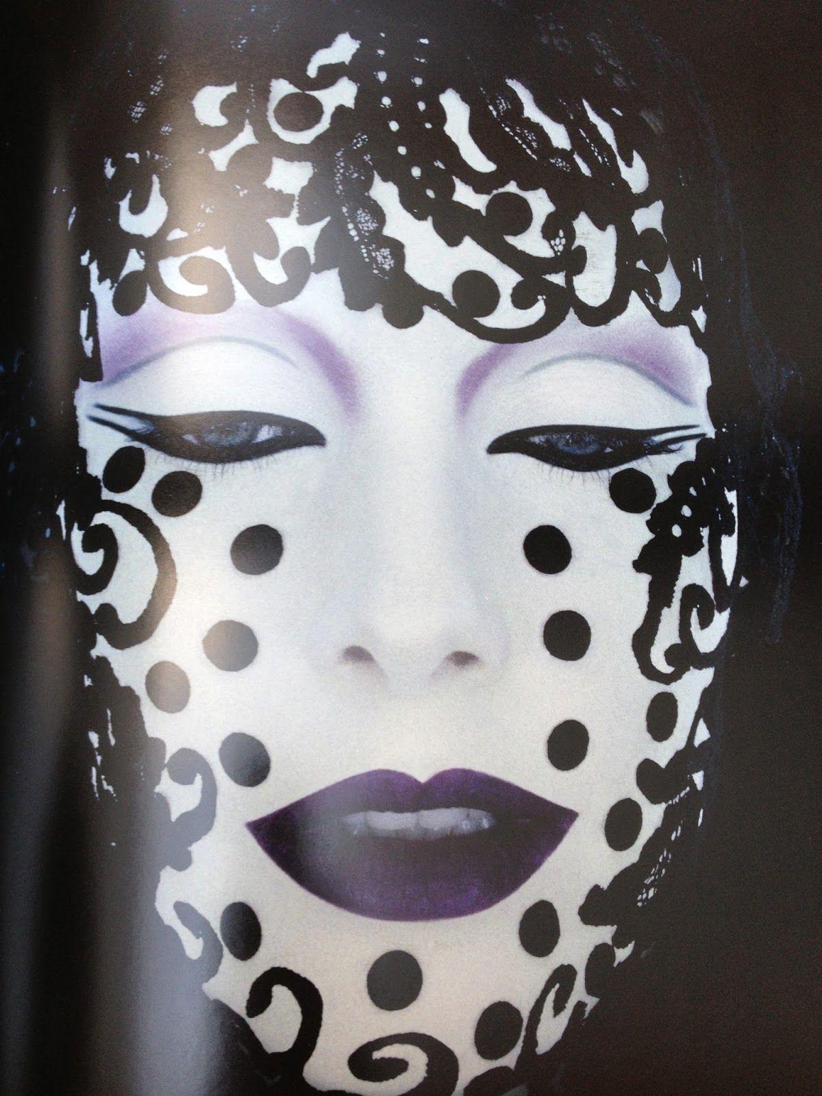 Serge Lutens Face painting halloween, Perfume art, Body