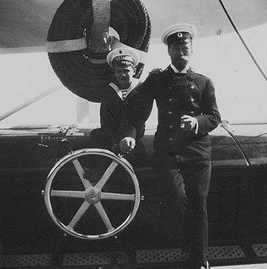 Alexei and Nicholas II