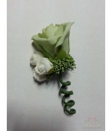 Corsage Roos Cool Green Mint CEM 32