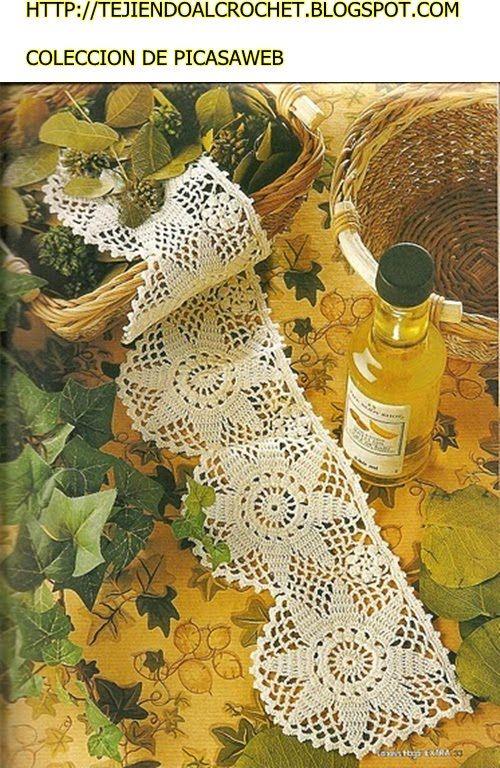 PATRONES - CROCHET - GANCHILLO - GRAFICOS | Bordes en crochet ...