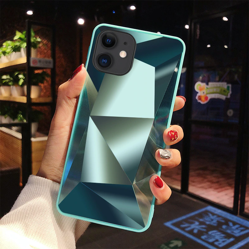 Diamond 3d Mirror Back Cover For Iphone 11 Pro Case For Iphone 11 Pro Max 6 5 Inch Iphone 11 Pro Case Iphone Cases Iphone