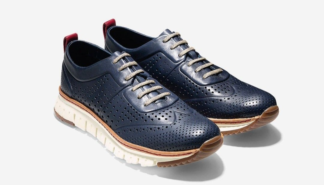 5ffc6b559857 Cole Haan Zero Grand Perforated Sneakers... Very comfortable and very  versatile!