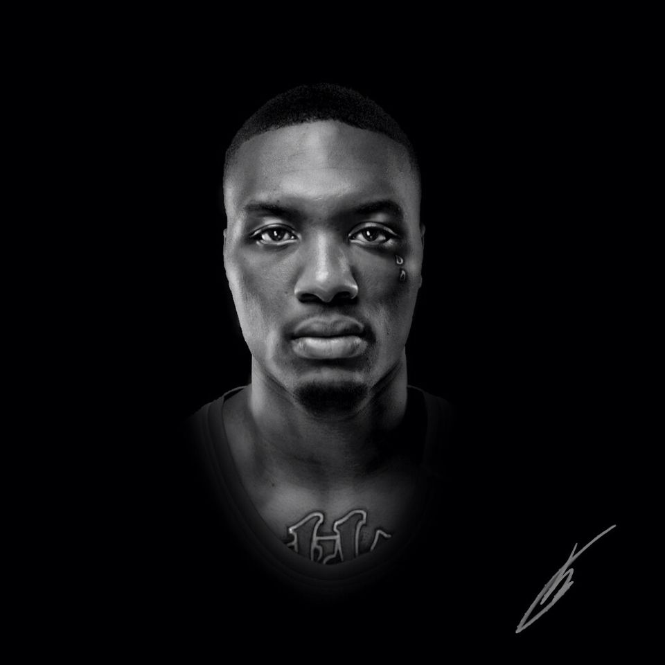 light eyes black ~damian lillard~ by Berre Brans
