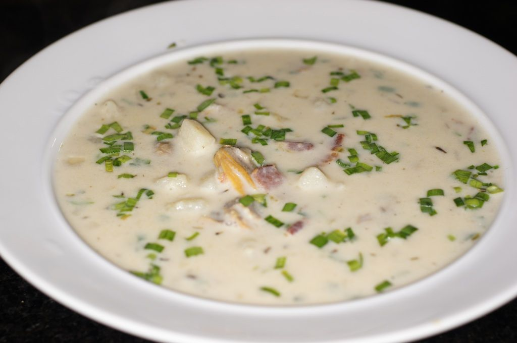 New England Clam Chowder Clam chowder recipes, Recipes