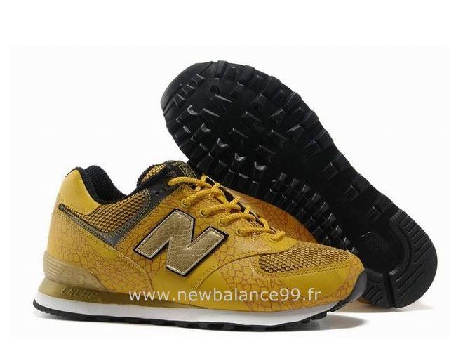 new balance 574 femme jaune