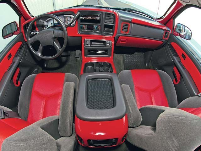 Custom Color Matched Interior Truck Pinterest Chevrolet Silverado Sport Truck And