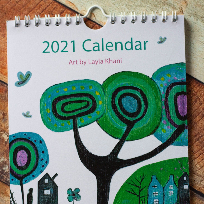 Art Wall Calendar 2021 Pictures