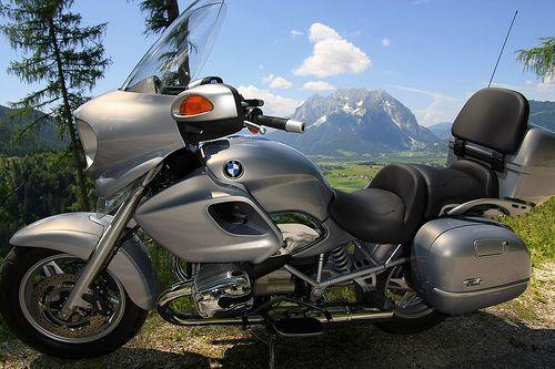 BMW R 1200 CL motorcycle trip Austria Europe Copyright