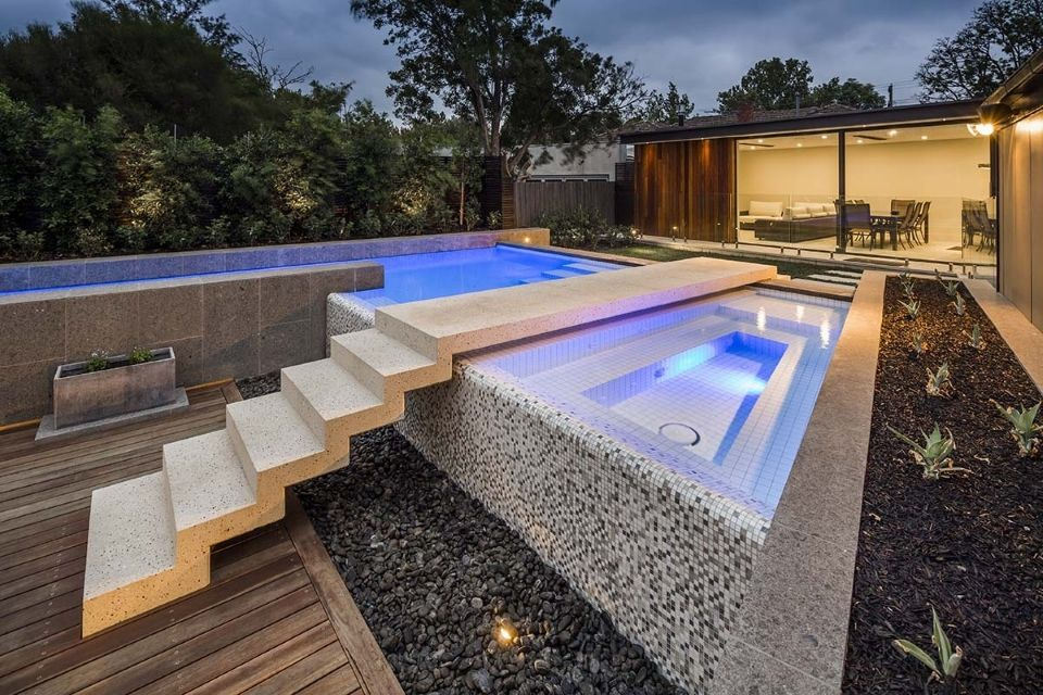 2014 Spasa Victoria Best Innovative Pool Or Spa Highly Commended Pool Aloha Pools Swimming Pool Spa