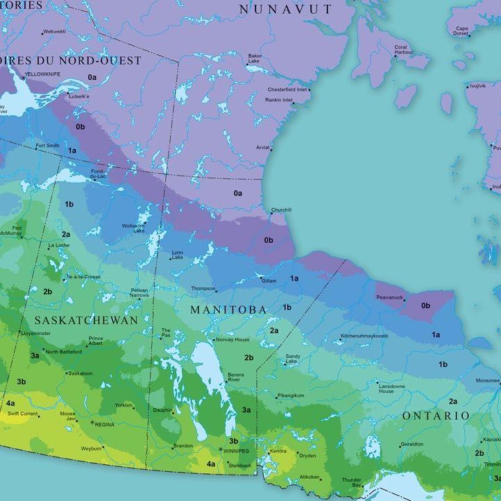 Hardiness Zones In Canada