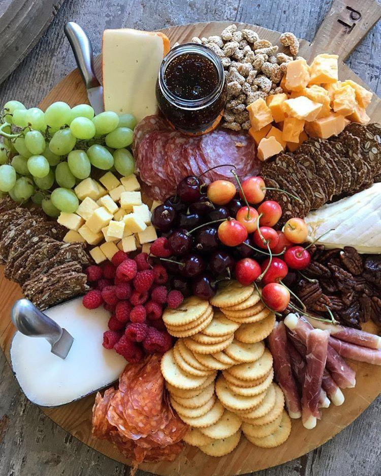 Appetizer board #charcuterieboard