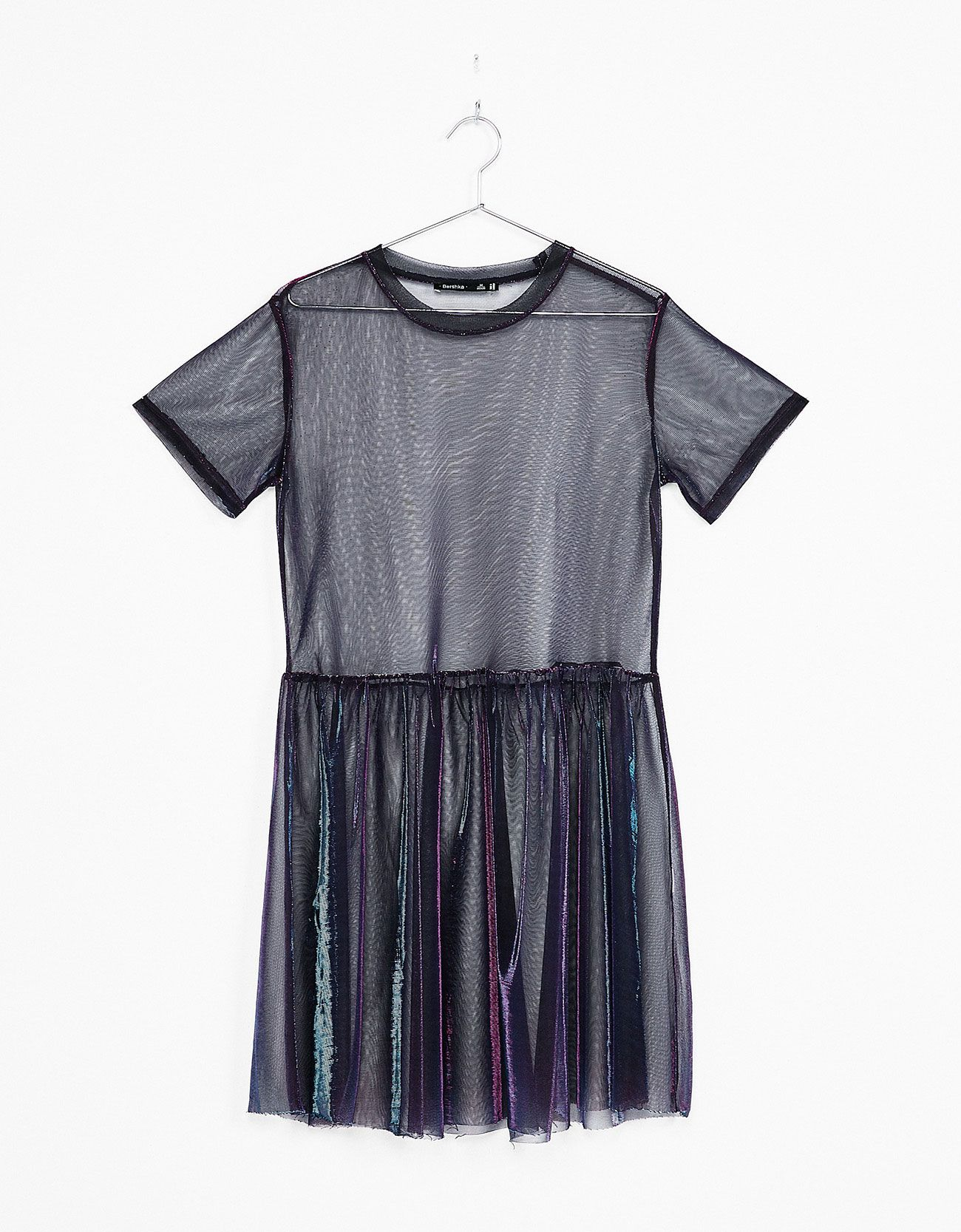 Iridescent T-shirt with tulle tutu. Discover this and many more items in  Bershka