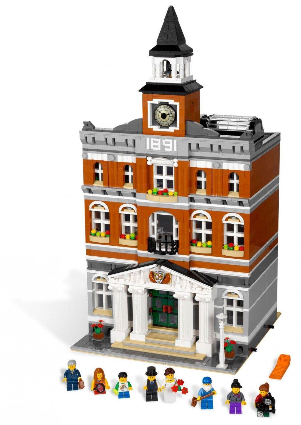 Pas 10224 Lego Creator CherLa MairieModulaire wZuTOPkXi