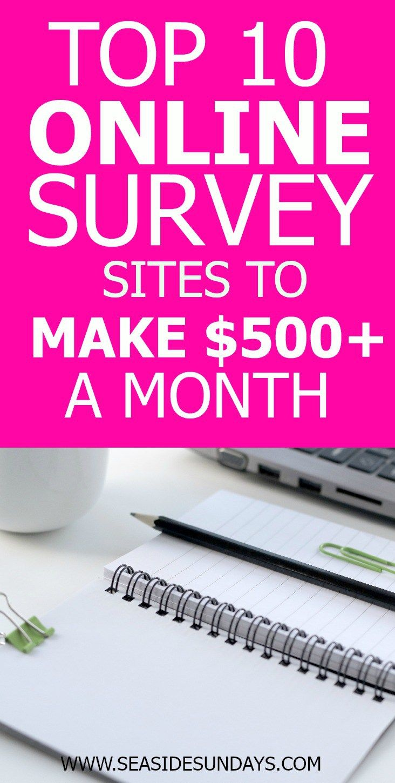 Home surveys for money