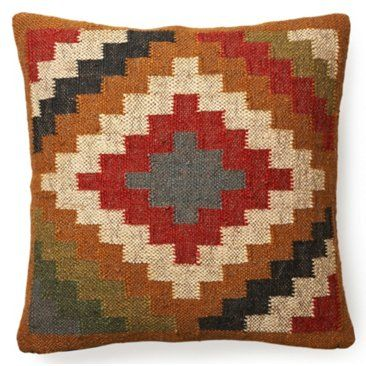 Check out this item at One Kings Lane! Kilim 20x20 Wool-Blended Pillow, Multi
