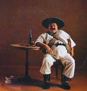 Image result for mexican drinking beer