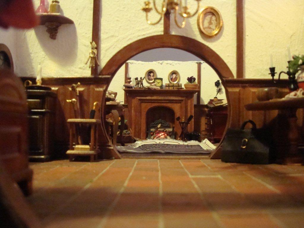 Hobbit Interior Design the hobbit: mom creates infinitely detailed toy doll house