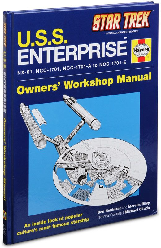 Star Trek: U.S.S. Enterprise Haynes Manual | Star trek, Star trek books,  Trek