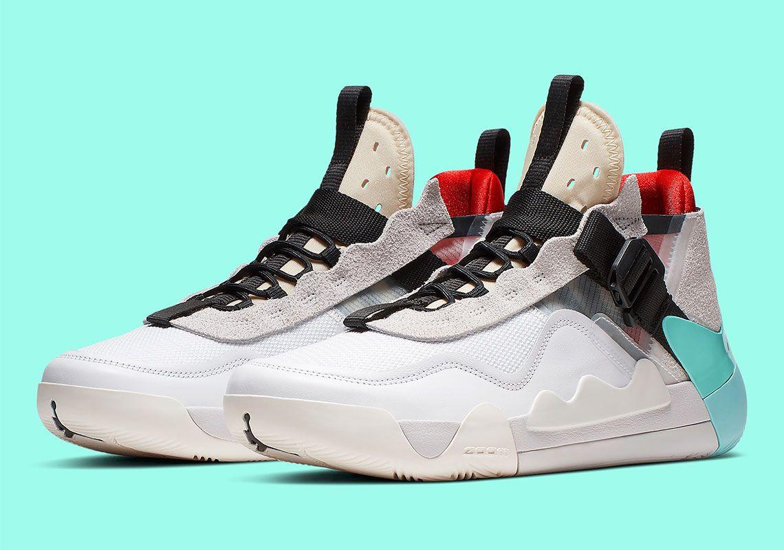 Jordan Defy SP White Green Infrared CJ7698100 Womens