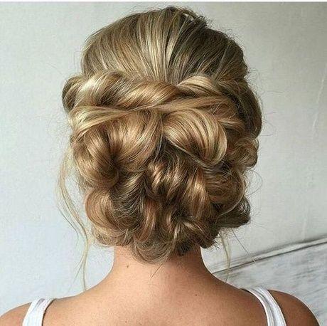 Upstyles For Long Thick Hair Kapsel Bruid Opgestoken Kapsels Opgestoken Haar