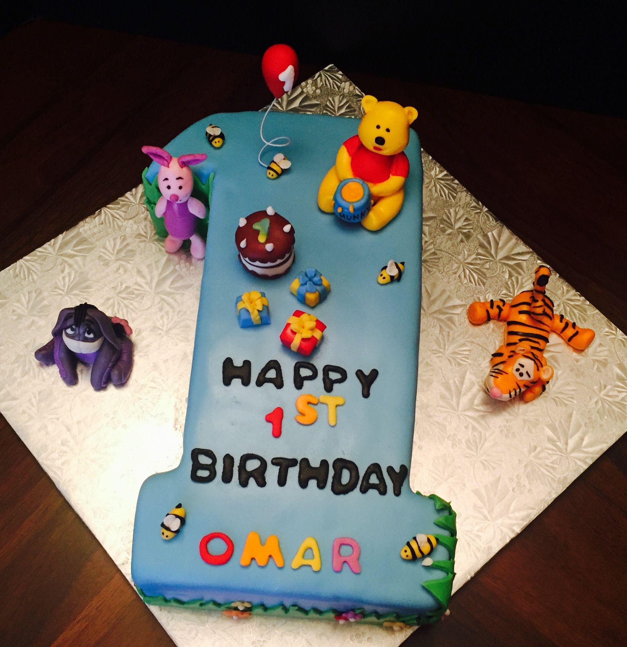 #monasbakes # Winnie the Pooh Cake #disney