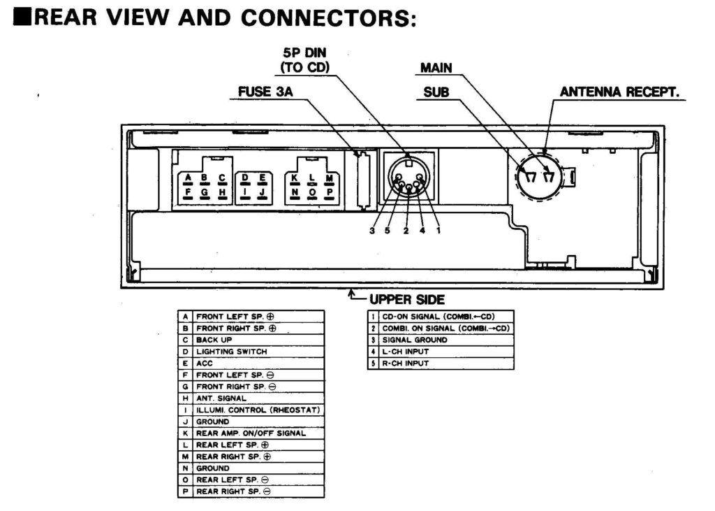 factory car stereo wiring diagrams  car stereo car stereo